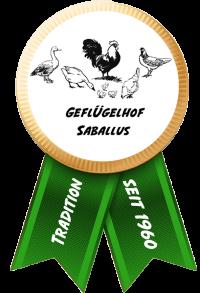 Geflügelhof Saballus Logo